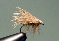 ELK HAIR CADDIS, GREEN